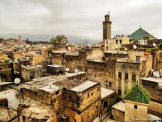 The Old City of Fez, Morocco photo on Sunsurfer Beautiful Sites, Beautiful Places To Visit, Cool Places To Visit, Places To Travel, Wonderful Places, Agadir, Fes Medina, Fez Morocco, Excursion