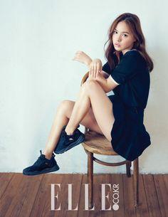 Min Hyo Rin - Elle Magazine August Issue '15