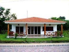na dream House Village House Design, Village Houses, Best House Plans, Dream House Plans, Bungalows, Dream Home Design, My Dream Home, Style At Home, Bungalow House Plans