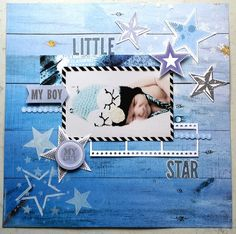 Off The Wall Collection : Little Star layout by Amanda Baldwin