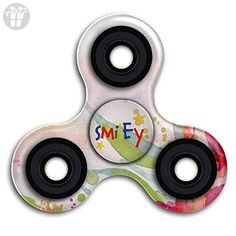 Tri-Spinner Fidget Man And Woman And Kids Smiley Hand Spinner ADHDSpinner Fidget Toys,High Speed - Fidget spinner (*Amazon Partner-Link)