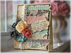 Lovely card - ornate but not too much so