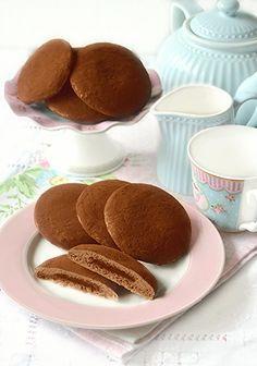 Dolci a go go: Biscotti morbidi al cioccolato e nutella simil-Grisbì