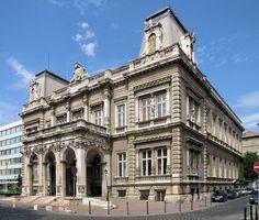 Károlyi Palace - Budapest, Hungary, mellette a Magyar Rádió épülete Neoclassical Architecture, Baroque Architecture, Facade Architecture, Historical Architecture, Amazing Architecture, Budapest City, Budapest Travel, Capital Of Hungary, European River Cruises