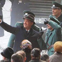 Bridge of Spies Tom Hanks, Spy, Captain Hat, Toms, Bridge, Bridge Pattern, Bridges, Attic, Bro