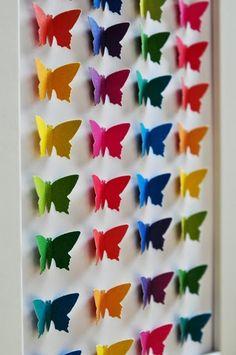 Butterfly frame | Schmetterlingsbilderrahmen