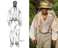 "Designing the costumes for Steve McQueen's 1850s-era tale about a free man turned slave proved to be a challenge for six-time Academy Award nominee Patricia Norris, since there are very few references on which to base their wardrobes. ""There really is no pictorial research except for bad etchings that make everybody look happy,"" she explains to The News. Norris, therefore, relied primarily on her own imagination, figuring that most slaves were outfitted with hand-me-downs from their owners…"