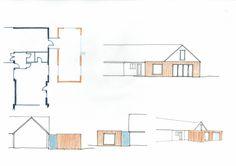Barn conversion extension ideas Extension Ideas, Floor Plans, Barn, Architecture, Design, Architecture Illustrations, Design Comics, Warehouse, Floor Plan Drawing
