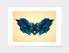 """Curioos.com   """"There be dragons"""" by Cristian Todorovic  - Gallery Quality Art Print"""