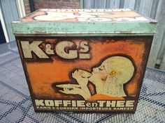 Coffee Stands, Coffee Tin, Tin Cans, Vintage Tins, Vintage Advertisements, Give It To Me, Porn, Advertising, Things To Come