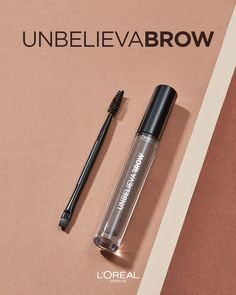 Unbelievabrow❗️Our longlasting brow gel lets you wake up with brows that are as full and defined as they were the night before 😍 The Night Before, Brow Gel, Loreal Paris, Brows, About Me Blog, Lipstick, Let It Be, Makeup, Beauty