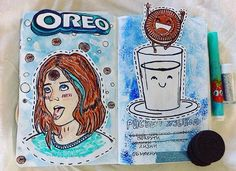 Wreck This Journal Oreos