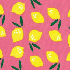 Small World - Cloud9 Fabrics - lemon drop by Rae Hoekstra