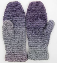 Ravelry: Historic mitt in crochet nålbindning/Historisk vante i virkad nålbindning pattern by Ann Linderhjelm  Free pattern