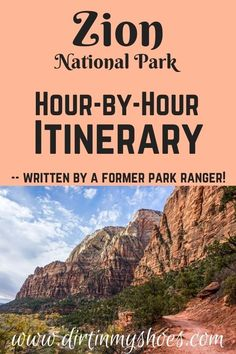 Take the trip to Zion National Park that your family can't stop talking about! More than a travel guide, this itinerary will take you through Zion hour-by-hour! Whether you enjoy hiking with kids and family, camping with friends, or traveling solo we'll hit your bucket lists hard! This itinerary is your key to a fun and memorable road trip without all the planning! Zion National Park, National Parks, Things To Do, How To Memorize Things, Hiking With Kids, Solo Travel, Ranger, Travel Guide, The Good Place