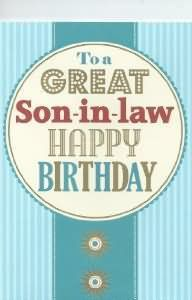 Happy Birthday Wishes For Son In Law With Images Birthday