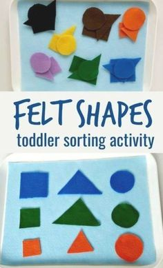 Activities For One Year Olds, Crafts For 2 Year Olds, Indoor Activities For Toddlers, Gross Motor Activities, Sorting Activities, Color Activities, Shapes For Toddlers, Shape Sort, Toddler Teacher