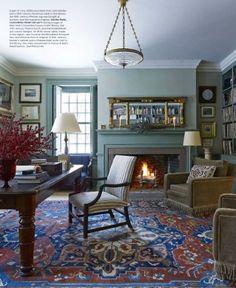 Elle Decor December 2014: 7 Best Interiors with Decorative Rugs