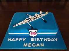 40th Cake, 16 Birthday Cake, 16th Birthday, Happy Birthday, Rowing Team, Rowing Crew, Workout Gear, No Equipment Workout, Workout Outfits