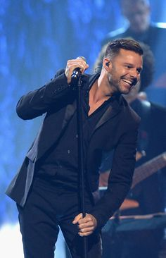 "Singer Ricky Martin performs during the 18th annual Keep Memory Alive ""Power of Love Gala"" benefit for the Cleveland Clinic Lou Ruvo Center for Brain Health honoring Gloria Estefan and Emilio Estefan Jr. on April 26, 2014 in Las Vegas, Nevada."