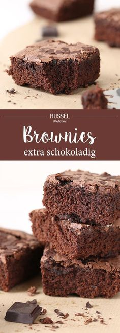 Schokoladige Brownies – Hussel Confiserie Our brownie recipe is simple, yet unbeatably tasty and juicy. The American export hit with lots of chocolate makes sweet … Cookie Dough Cake, Chocolate Chip Cookie Dough, Brownie Cookies, Chocolate Brownies, Chocolate Desserts, Chocolate Chocolate, Food Cakes, Chocolates, Cookie Recipes