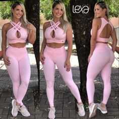 Legging Ca7 Rosa Bebê na Lexafitwear. Leggings Outfit Summer, Cute Outfits With Leggings, Girls Leggings, Selfie Sexy, Sporty Girls, Yoga Wear, Workout Wear, Sexy Outfits, Gym Outfits