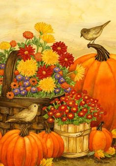 Tomorrow is Friday and my day off, I m so looking forward to Fall. Fall Canvas Painting, Autumn Painting, Autumn Art, Fall Images, Fall Pictures, Pictures To Paint, Creation Photo, Thanksgiving Art, Mushroom Art