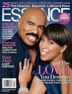 Black Love on ESSENCE Covers Through the Years; Steve and Marjorie Harvey In December 2009 comedian and TV personality Steve Harvey and his wife Marjorie Harvey appeared together for the very first time on the cover of ESSENCE. The Lady Loves Couture, Love Couture, Steve Harvey Wife, Majorie Harvey, Black Magazine, Jet Magazine, Magazine Stand, Essence Magazine, Act Like A Lady