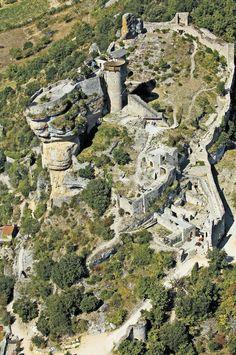 Les châteaux en Aveyron : le château de Peyrelade #South #France