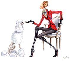 Модная иллюстрация ...Arturo Elena. Обсуждение на LiveInternet - Российский Сервис Онлайн-Дневников