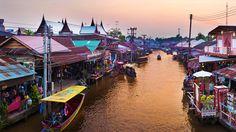 Ampawa Floating Market #Thailand #Photography