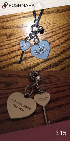 Michael Kors Keychain Michael Kors Keychain in great condition! Michael Kors Accessories Key & Card Holders
