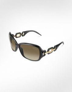 Roberto Cavalli  Calla - Signature Rectangular Ring Sunglasses
