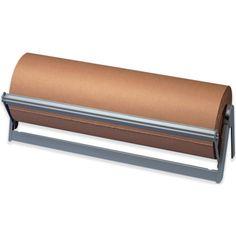 Horizontal paper roll cutter