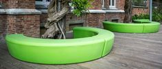 LOOP ARC | a playful and informal urban element by out-sider, Denmark. Play with the endless possibilities of combining the curves and colors! LOOP ARC is available in 12 colors. Made in moulded polyethylene, sturdy, UV-resistant, and suitable for complete recycling.