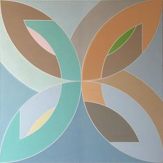"""Frank Stella, """"Flin Flon,"""" 1965 #art"""