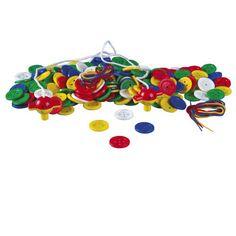 1aac020b19f Pretknopen --- Een set met kleurrijke knopen voor verschillende  activiteiten.
