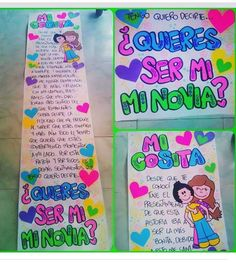 Ideas Para Fiestas, Notebook, Love, 3, Texts, Love Posters, Gifts For My Boyfriend, Amor, El Amor