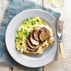 Pork with Parsnip Mash