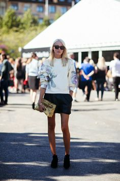 14 Ways To Style A Simple Sweater For Spring