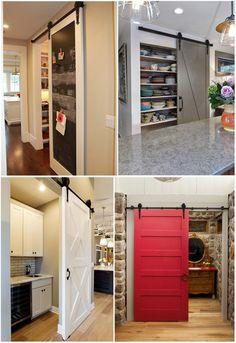 iKayaa 7FT Schiebetürbeschlag Schiebetürsystem Tür-Hardware-Kit aus Stahl für Schiebetüren Innentüren: Amazon.de: Küche & Haushalt
