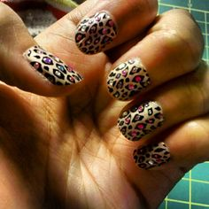 Just got doing my nails and toes :)