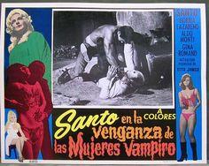 Santo en la Venganza de las Mujeres Vampiro (1970)