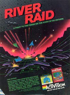 River Raid for Atari