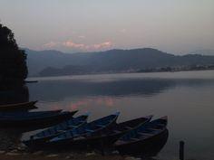 Sunset @ pokhara!