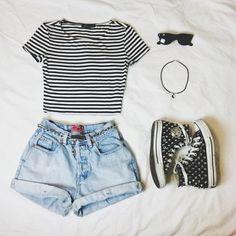 shorts + blusinha