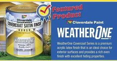 Made in Canada for Canada. 18% off all Cloverdale Paint until June 13th.  See the complete flyer online.