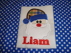Little Boy Santa (The ruffled rose bowtique on facebook)