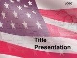 Flag of U.S. states PowerPoint Templates. Flag of U.S. states PowerPoint Templates background contains a combination of maps USA and states. Such design