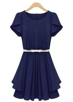 cute dress in navy
